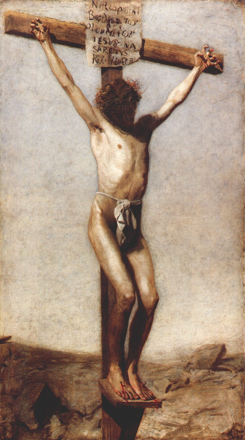 Thomas Eakins, Christ on the Cross. Oil on canvas, 1880. Philadelphia Museum of Art.