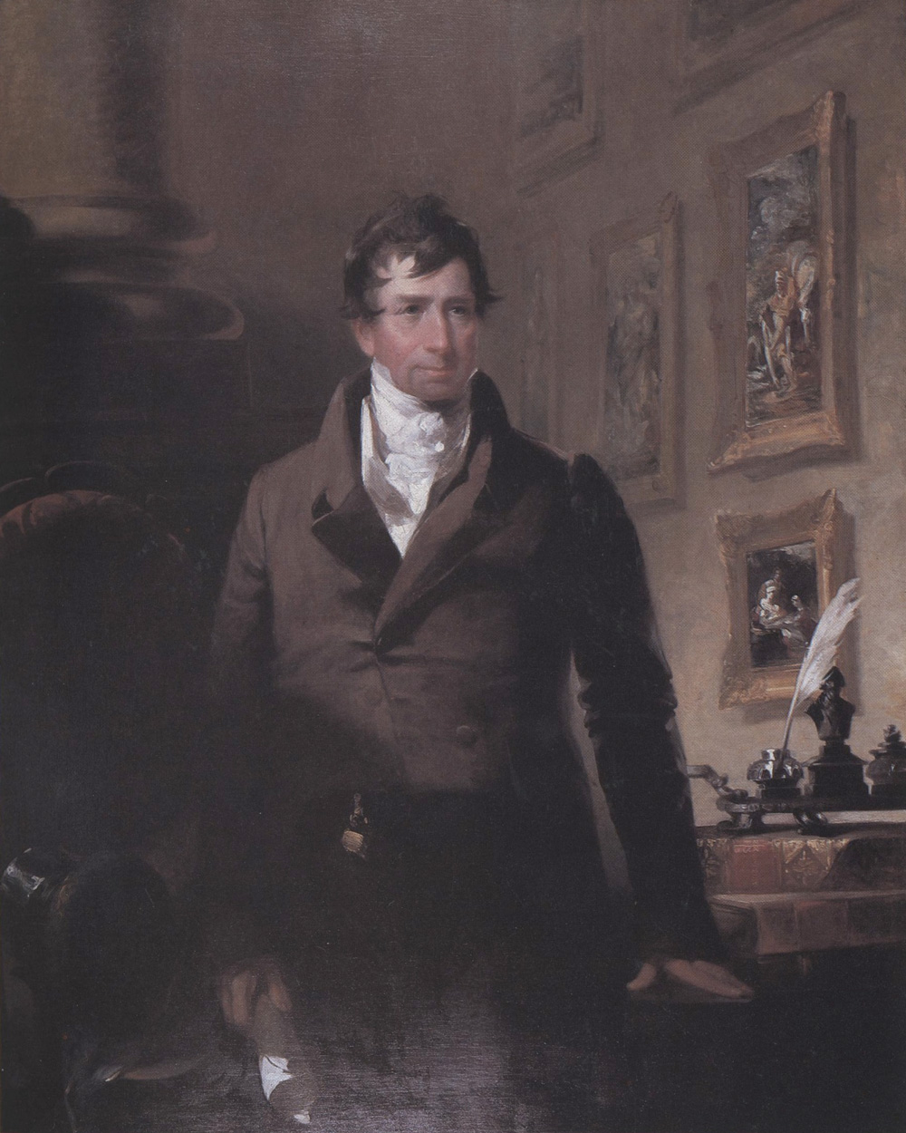 John Neagle, Dr. William Potts Dewees. Oil on canvas, 1833. University of Pennsylvania School of Medicine.