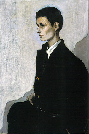 Romaine Brooks, Peter (A Young English Girl). Oil on canvas, 1923-24. Smithsonian American Art Museum, Gift of the artist, 1970.70.