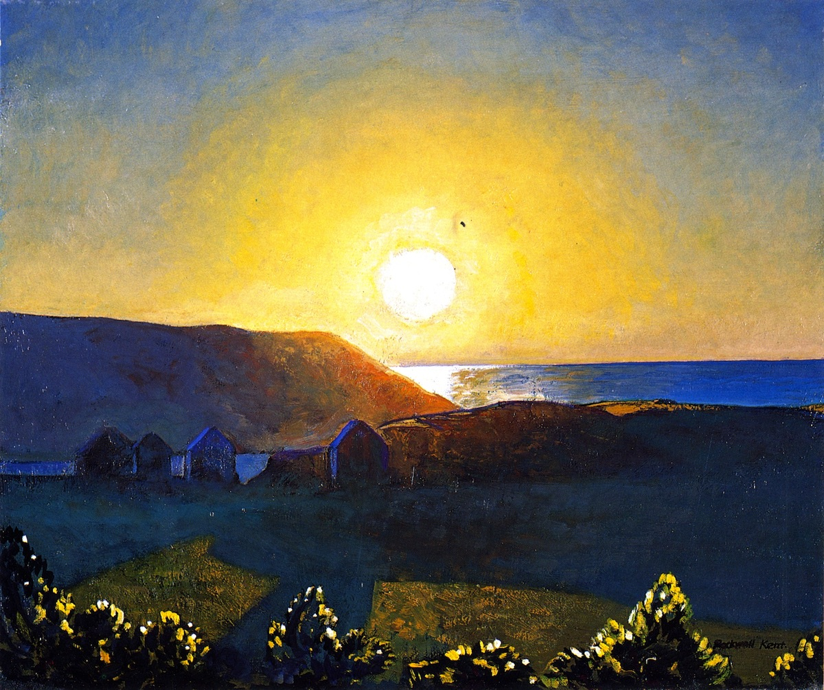 Sun, Mañana, Monhegan. Oil on canvas, 1907. Bowdoin College Museum of Art. Museum Purchase with Funds Donated Anonymously, 1971.73